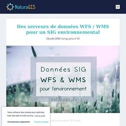 Données WFS / WMS pour SIG en environnement