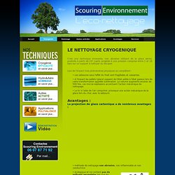 Scouring environnement-eco-nettoyage-cryogénie