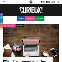 Environnement : les coûts cachés du numérique - Curieux!