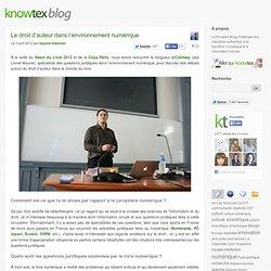 Le droit d'auteur dans l'environnement numérique