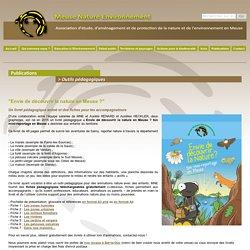 Meuse Nature Environnement - MNE - Outils pédagogiques
