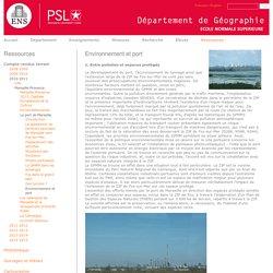 Environnement et port