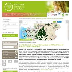 Charente : mise en place d'un réseau de référents pour lutter contre l'ambroisie