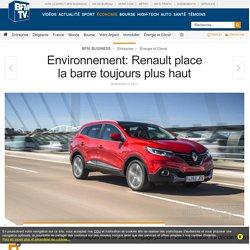 Environnement: Renault place la barre toujours plus haut