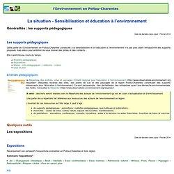 [l'Environnement en Poitou-Charentes] 14. Sensibilisation et éducation à l'environnement