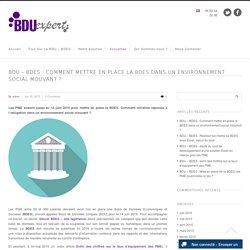 BDU : Mise en place la BDES et environnement social mouvant