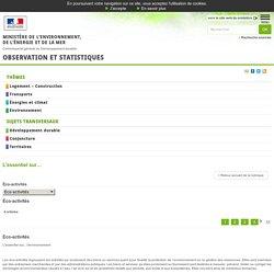 Éco-activités [L'essentiel sur…, Environnement]:Observation et statistiques