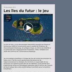 Serious game EDD : Les îles du futur