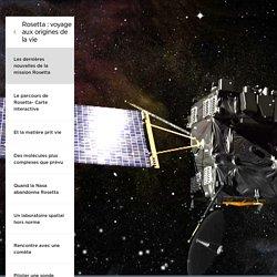 Les dernières nouvelles de la mission Rosetta