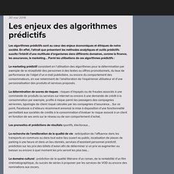Les enjeux des algorithmes prédictifs