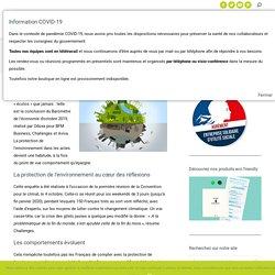 L'environnement plus que « tendance » pour le Français