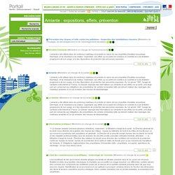 Portail Santé Environnement Travail - Index thématique