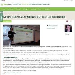 Environnement & numérique, outiller les territoires : Transitions²