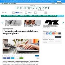 L'impact environnemental de nos usages digitaux