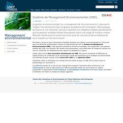 Le management environnemental en entreprise — Environnement-Entreprise