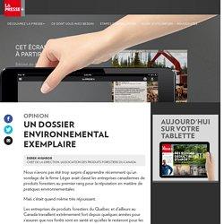 Un dossier environnemental exemplaire