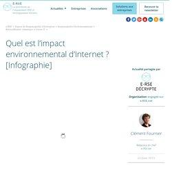 Quel est l'impact environnemental d'Internet ?
