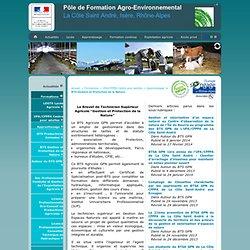 Pôle de Formation Agro-Environnemental>BTS Gestion et Protection de la Nature