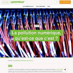 Impact environnemental du numérique : il est temps de renouveler Internet - Greenpeace France