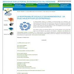 La responsabilité sociale et environnementale : un enjeu majeur pour les entreprises