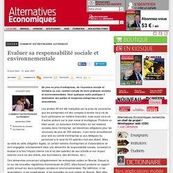 Evaluer sa responsabilité sociale et environnementale