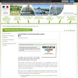 L'autorisation environnementale unique - DREAL Normandie - Ministère de l'Environnement, de l'Énergie et de la Mer