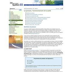 Poissons - Santé environnementale