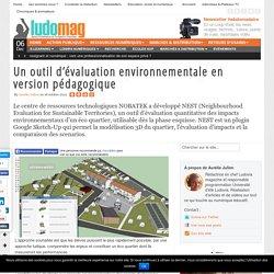Un outil d'évaluation environnementale en version pédagogique