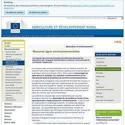 Mesures agro-environnementales - Agriculture et développement rural