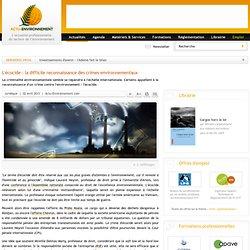 L'écocide : la difficile reconnaissance des crimes environnementaux