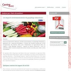 Les impacts environnementaux du gaspillage alimentaire