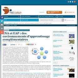 ENA et EAP : des environnements d'apprentissage complémentaires