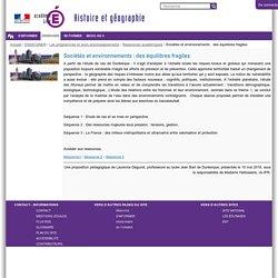 Ac-Lille Sociétés et environnements : des équilibres fragiles