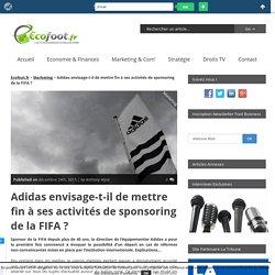 Adidas envisage-t-il de mettre fin à ses activités de sponsoring de la FIFA ?