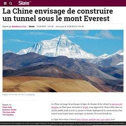 La Chine envisage de construire un tunnel sous le mont Everest