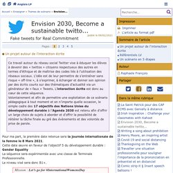 Envision 2030, Become a sustainable twitto... - Anglais LP