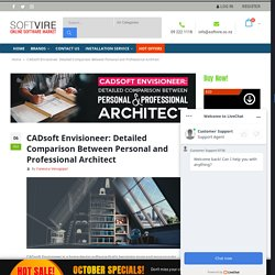 CADsoft Envisioneer: Personal vs. Pro Architect