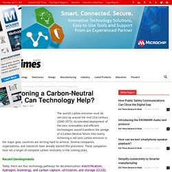 Envisioning a Carbon-Neutral World, Can Technology Help?
