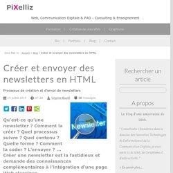 Créer et envoyer des newsletters en HTML - Pixelliz