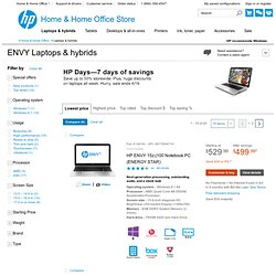 ENVY Laptops & Netbook PCs