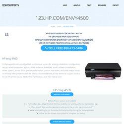 123.hp.com/envy4509 - HP Envy 4509 Install & Setup