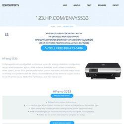 123.hp.com/envy5533 - HP Envy 5533 Install & Setup