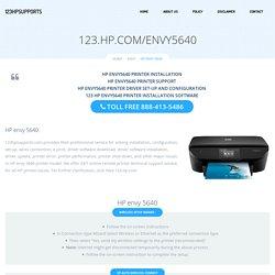 123.hp.com/envy5640 - HP Envy 5640 Install & Setup