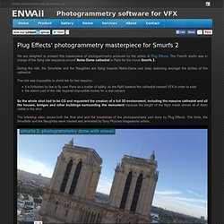 Enwaii photogrammetry for VFX : Making of Smurfs 2