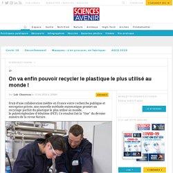Une enzyme pour recycler le plastique