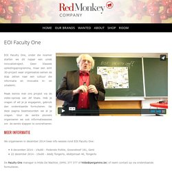 EOI Faculty One — Red Monkey Company