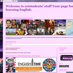 Welcome to eoistudents' stuff Your page for learning English.: SERIES BRITÁNICAS. ENGLISH SUBTITLES.