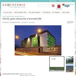 EOLAS, green datacenter à Grenoble (38)