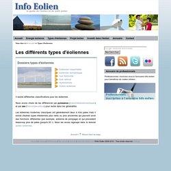 Info Eolien : les différents types d'éoliennes