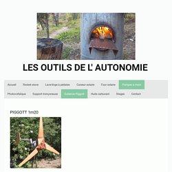Eolienne Piggott - Les outils de l'autonomie - Aurora